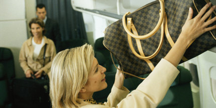 There are restrictions on hand luggage size