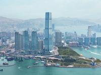 Tall hotels with bars - Hong Kong