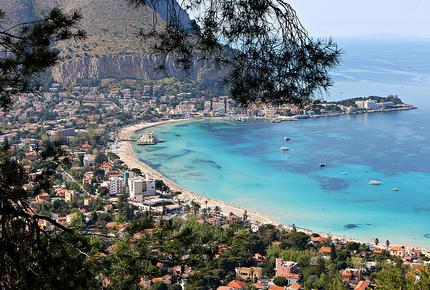 Gulf of Mondello, Palermo, Sicily