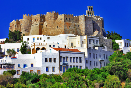 The Monastery of St John the Theologian above Patmos