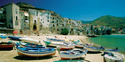 Sicily's white-sand beaches