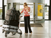 Luggage Trolley Airport 200