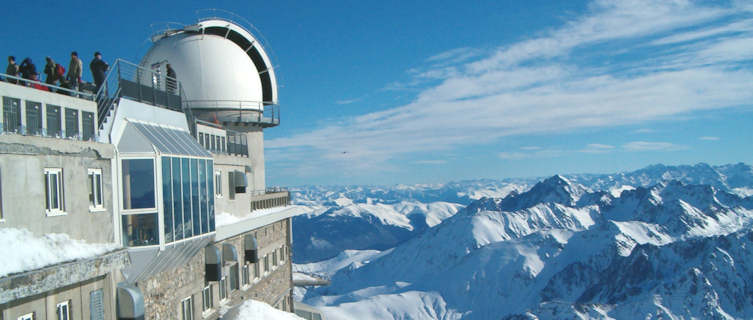 Views from the challenging Pic du Midi