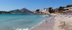 The icy blue coast of Mallorca