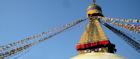 Join worshippers at Boudhanath Stupa
