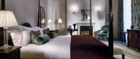 The hotel's stunning suites