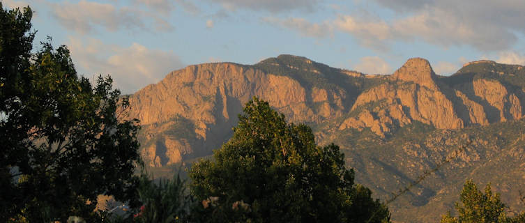Sandia Mountains, Alburquerque