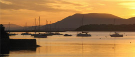 Sunset at Bantry Bay, Cork
