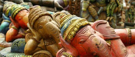 Statues of Ganesha, Chennai
