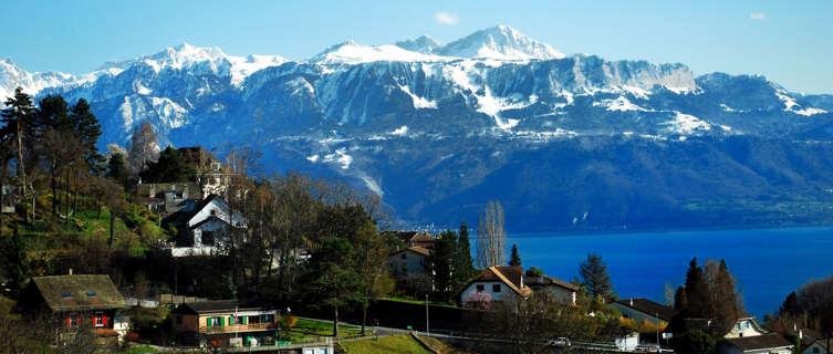 Between Bern and Geneva, Switzerland