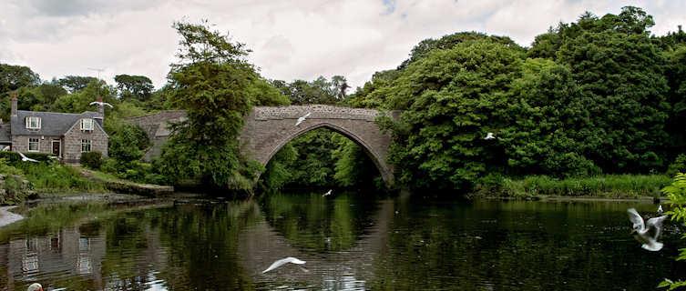 17th-century bridge, Seaton Park, Old Aberdeen