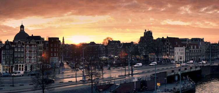 Overlooking Amsterdam