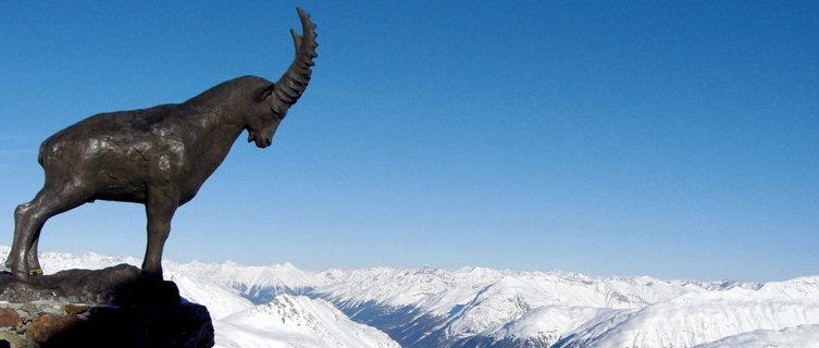 Engadin St Moritz ski resort