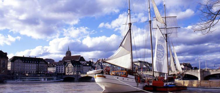 Sailboat on the Rhine