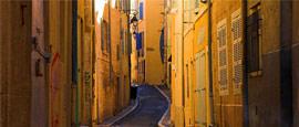 Marseille old town street
