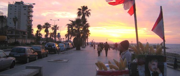 Evening on the Corniche, Beirut