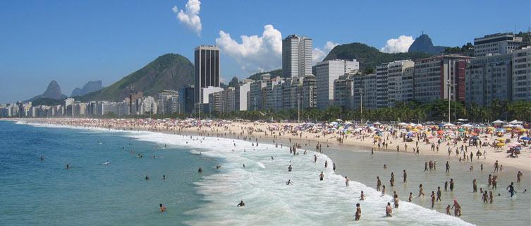 Rio's legendary Copocabana beach