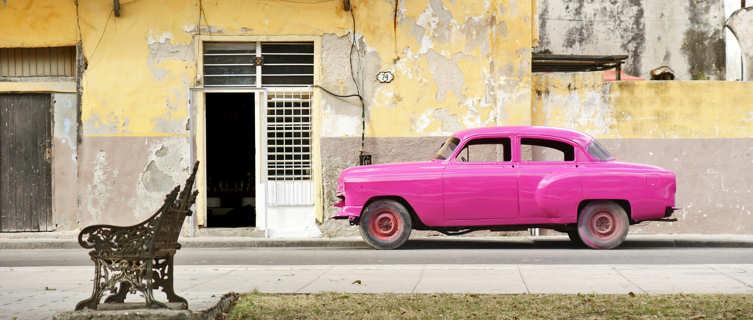 Vintage car, Havana