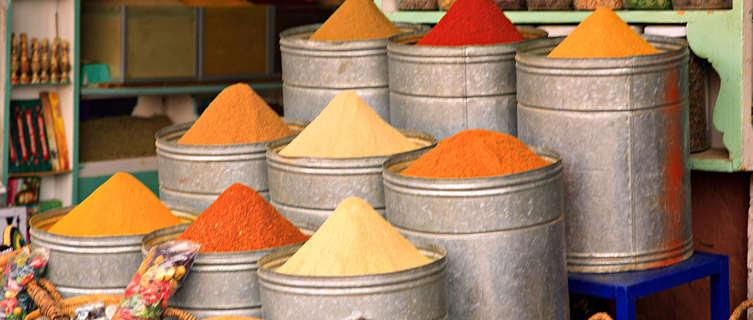 Spice souq, Fes