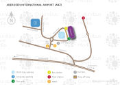 Aberdeen International Airport map