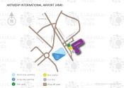 Antwerp International Airport map