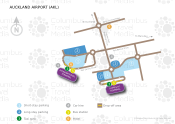 Auckland International Airport map