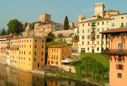 Andrew loved the perfect lifestyle in Bassano del Grappa