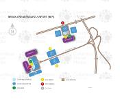 BER Berlin Brandenburg Airport map