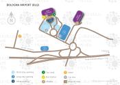 Bologna Guglielmo Marconi Airport map