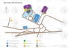 Bologna G. Marconi Flughafen map