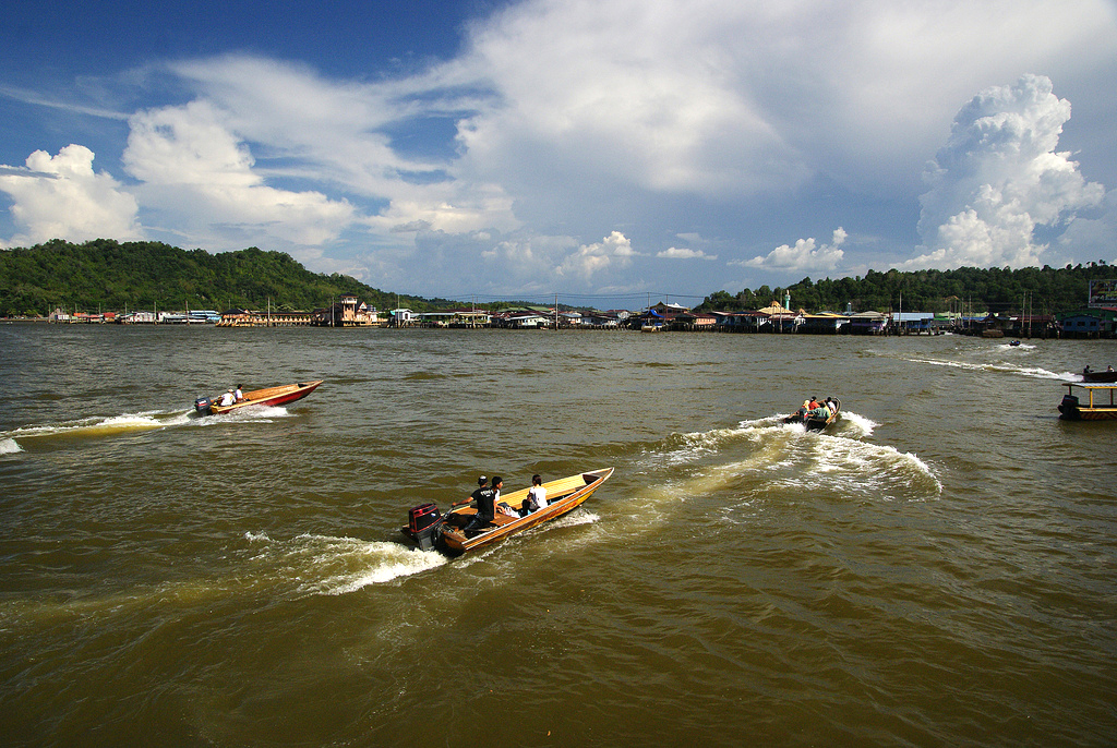 Brunei water taxis