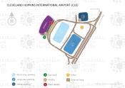 Cleveland Hopkins International Airport map
