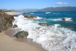 Check out Corsica's uncrowded beaches