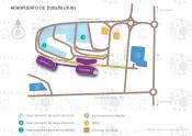 Aeropuerto de Dublín map