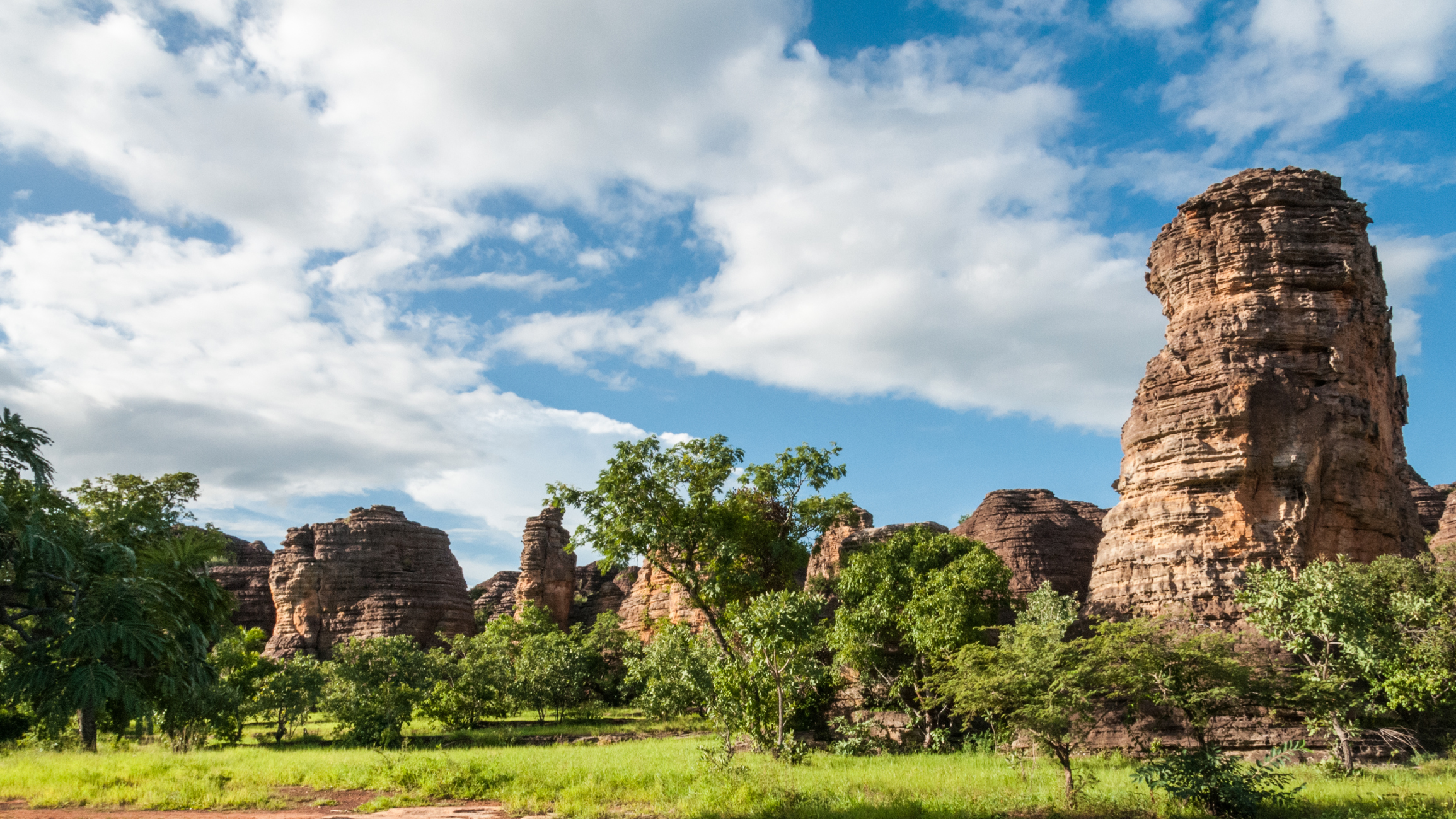 Dramatic landscapes abound in this little-known African country