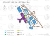 EuroAirport Basel-Mulhouse-Freiburg map