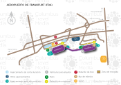 Aeropuerto de Francfort map