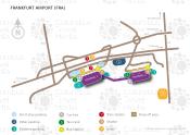 Frankfurt Airport map