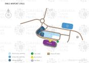 Faro Airport map