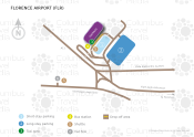 Florence Airport map