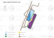 Gran Canaria Airport map