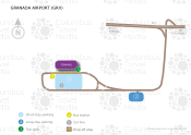Federico García Lorca Granada-Jaén Airport map