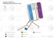 Halifax Stanfield International Airport map