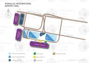 Honolulu International Airport map