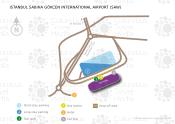 Istanbul Sabiha Gökçen International Airport map