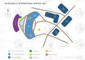 Jacksonville International Airport map