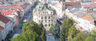Take a stroll around Kosice's picturesque central streets