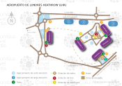 Aeropuerto de Londres - Heathrow map