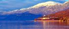 Lake Ohrid in Albania