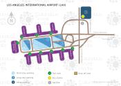 Los Angeles International Airport map